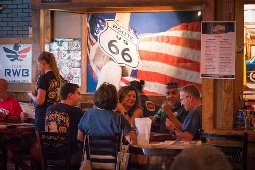 Hoppers Pub along Route 66, Waynesville Missouri