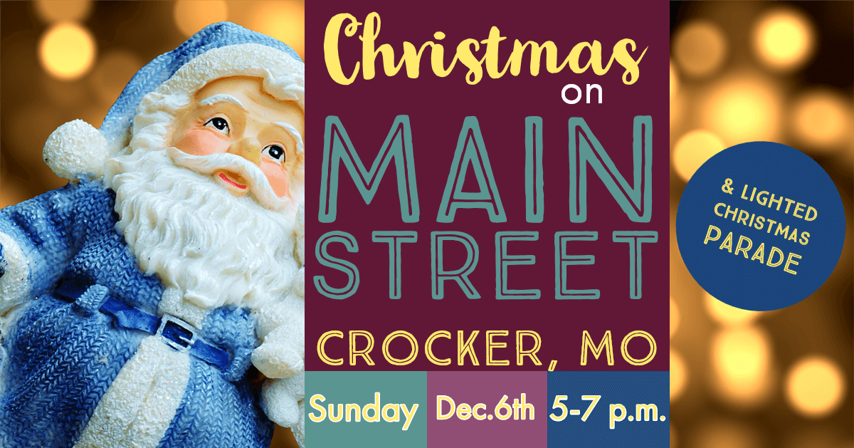 Christmas on Main Street Crocker Missouri