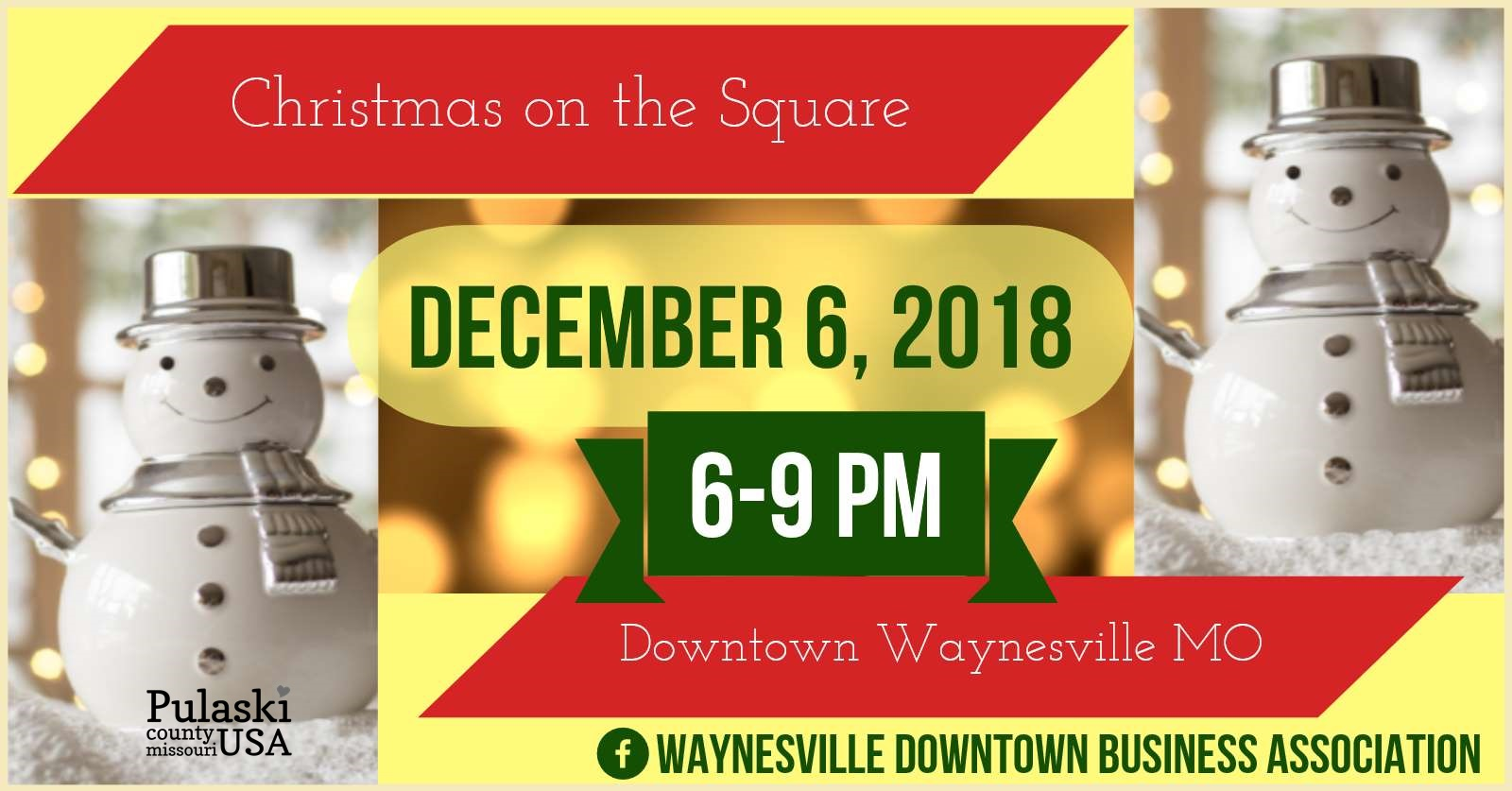 Christmas on the Square Tagged