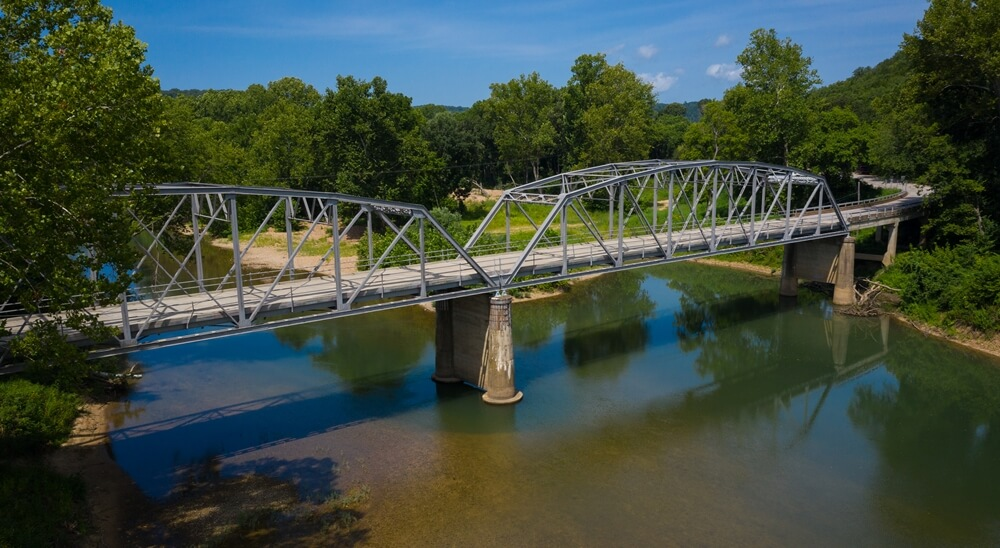 Devils Elbow Steel Bridge Route 66 Pulaski County Missouri