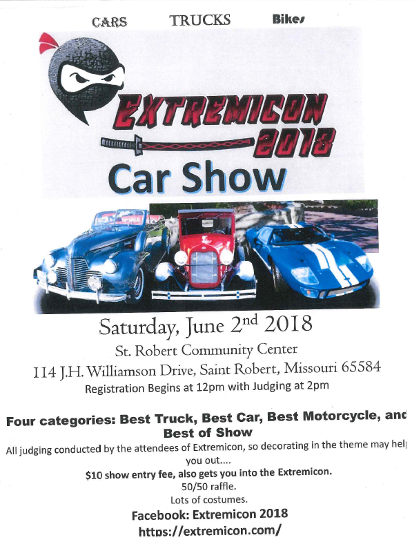 Extremicon Car Show