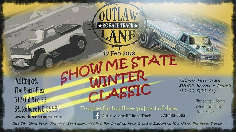FEbruary 17 Show Me State Winter Classic