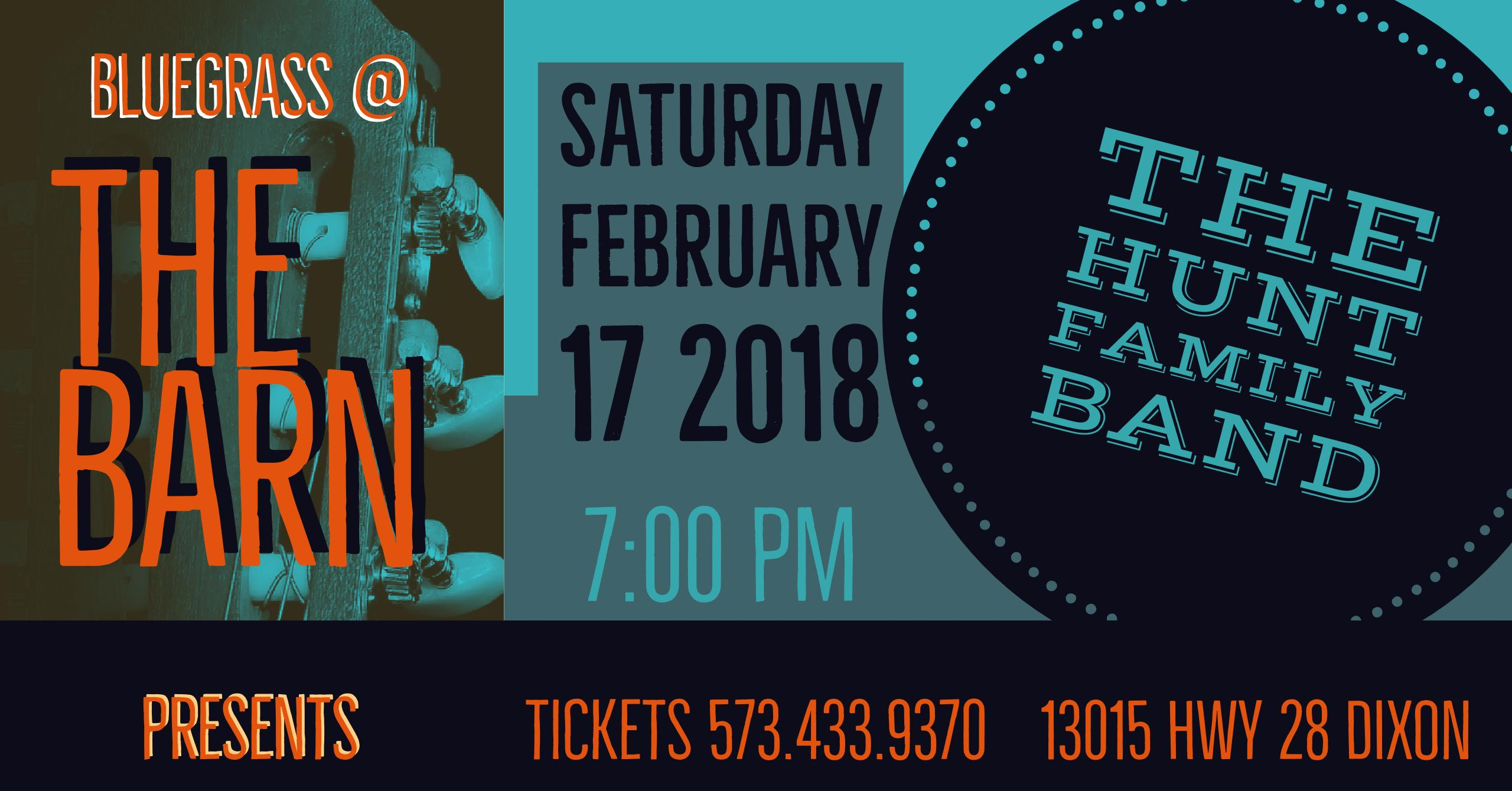 February 17 The Hunt Family Band
