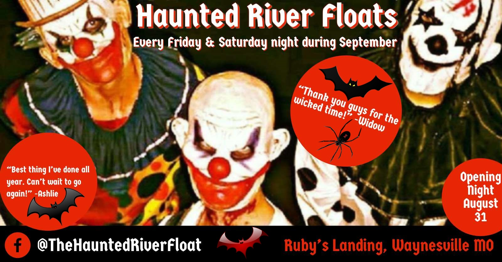 Haunted River Floats