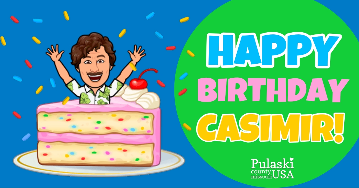 Happy Birthday Casimir!