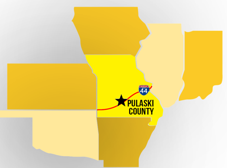 Pulaski County is a memorable motorcoach group travel destination in Missouri's Ozarks!