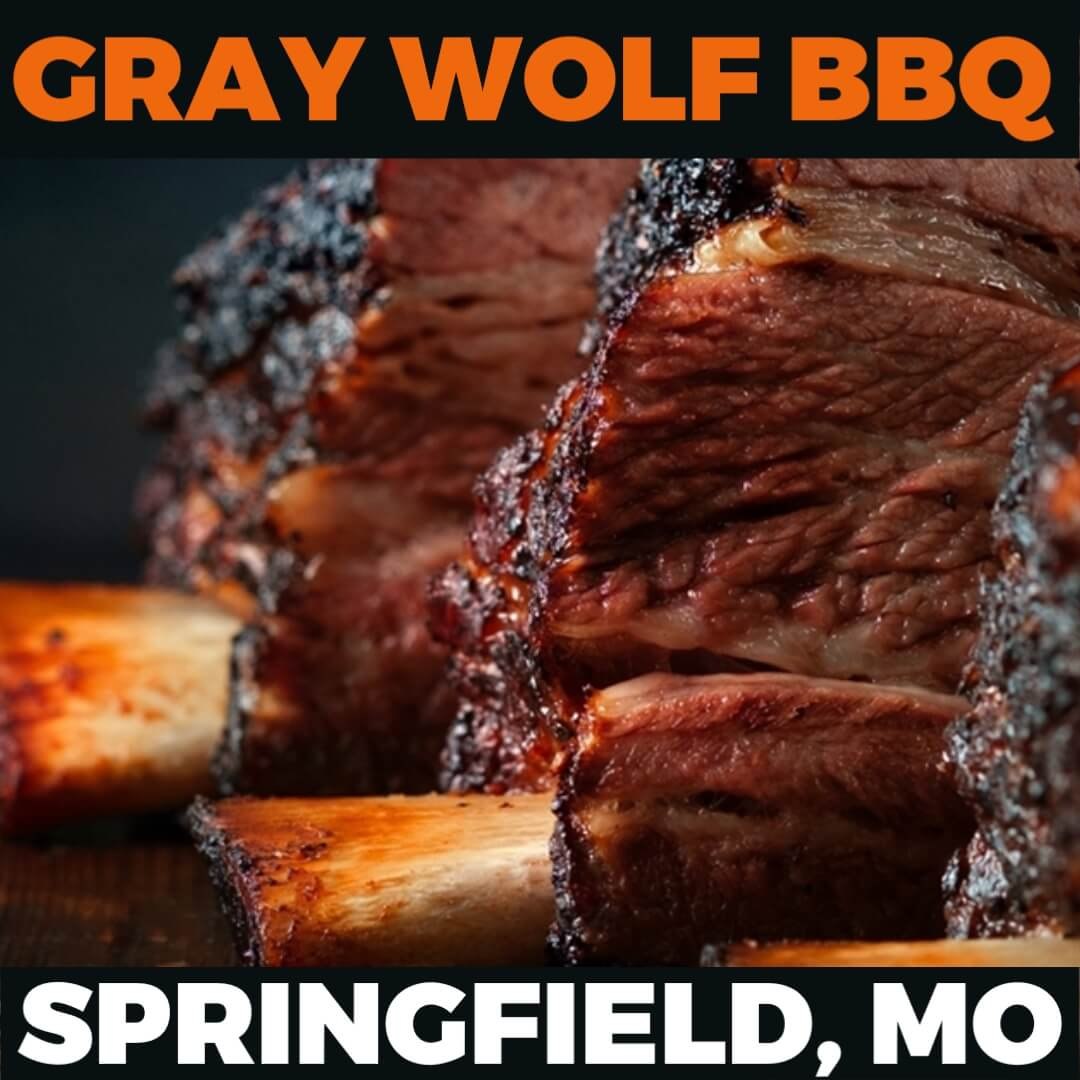 Kickin' It Route 66 Barbecue Challenge graphic for Gray Wolf BBQ based in Springfield, Missouri