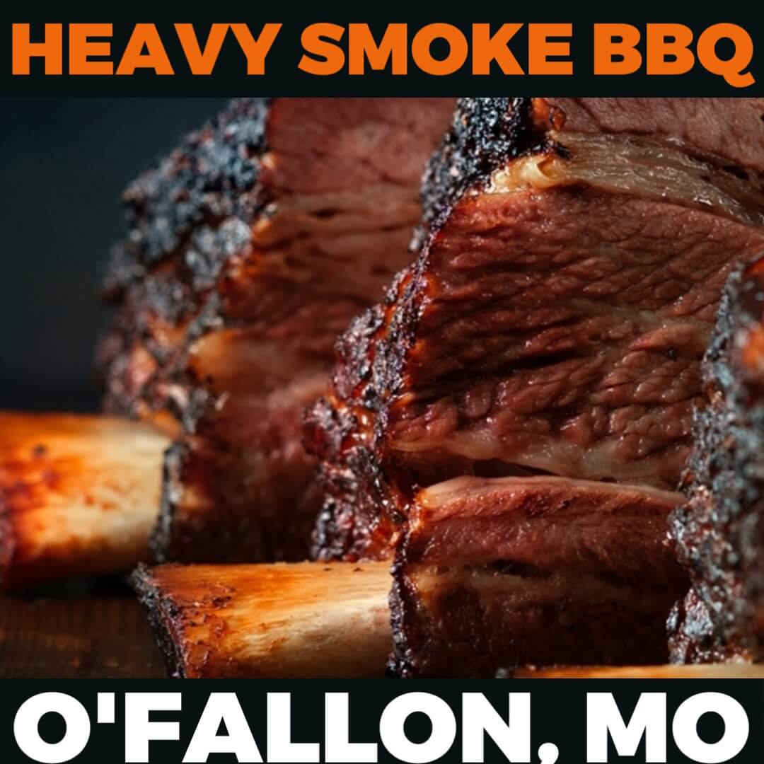 Kickin' It Route 66 Barbecue Challenge graphic for Heavy Smoke BBQ based in O'Fallon, Missouri