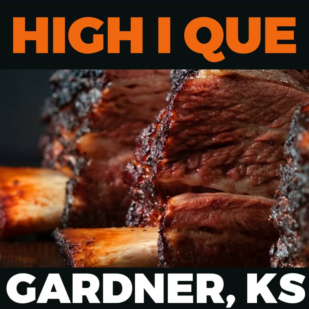 Kickin' It Route 66 Barbecue Challenge graphic for High I Que based in Gardner, Kansas
