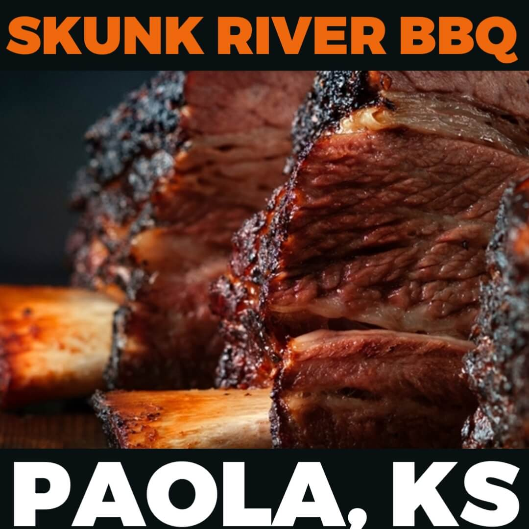 Kickin' It Route 66 Barbecue Challenge graphic for Skunk River BBQ based in Paola, Kansas