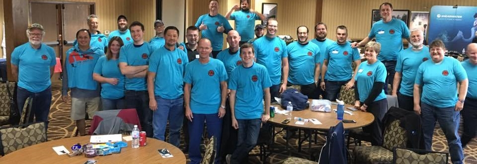 NSS-CDS Midwest 2018 Workshop attendees at Hampton Inn, Saint Robert Missouri