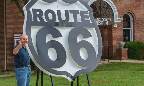 Route 66 Shield, Waynesville MO