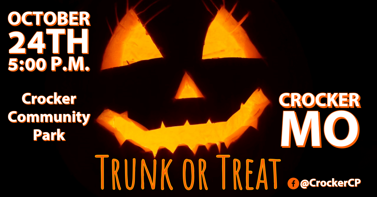 Trunk or Treat Crocker Missouri