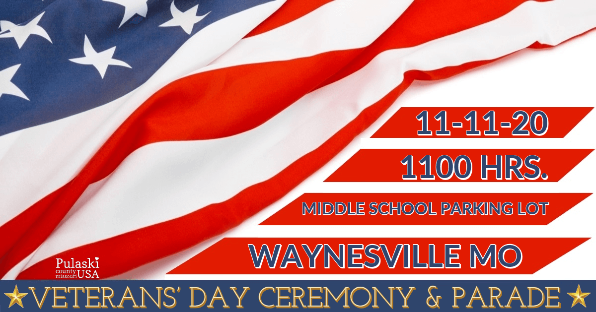 Veterans Day Parade Waynesville Missouri